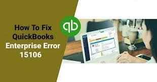 Quickbooks Support Update Error 15106